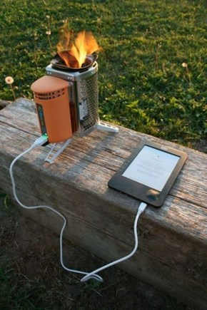 Charging Electronic Devices the Old Fashioned Way