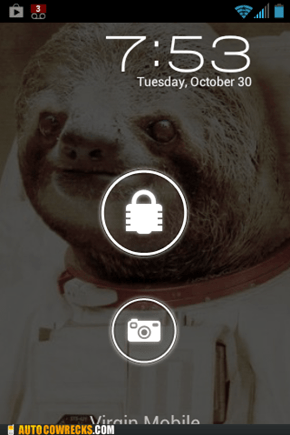 My phone is now hysterical.