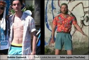Robbie Coslovich Totally Looks Like John Lajoie (YouTube)