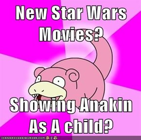 New Star Wars Movies?  Showing Anakin As A child?