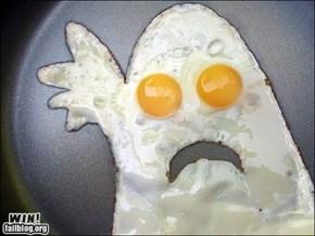 OMG! An egghost!