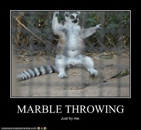MARBLE THROWING