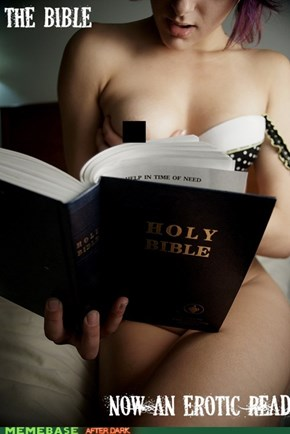 The bible now an erotic read