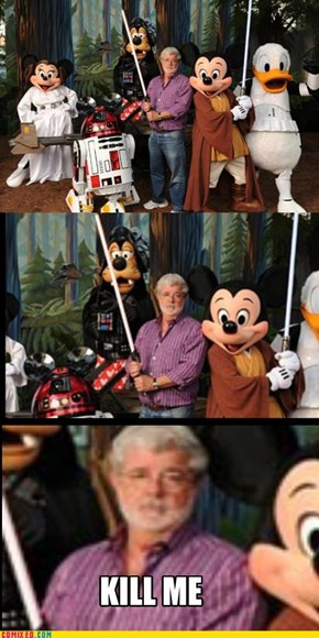 George Lucas thoughts on the matter