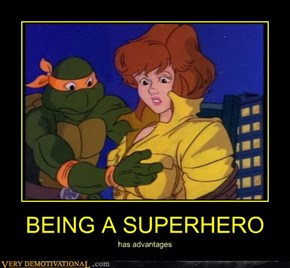 BEING A SUPERHERO