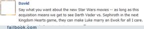 Darth Vader vs. Sephiroth