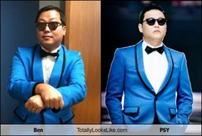 Ben Totally Looks Like PSY
