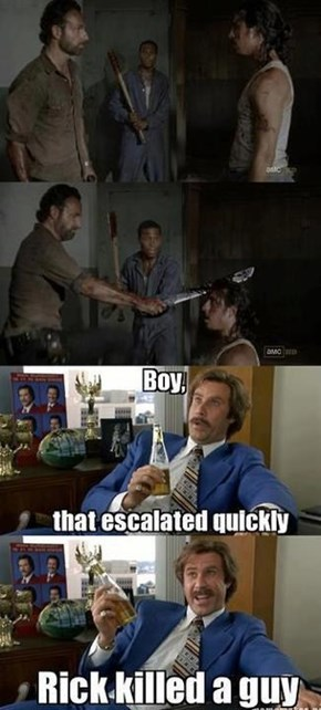 Nobody F**ks With Rick This Season