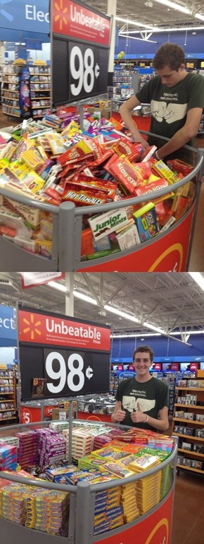 Good Guy Walmart Shopper