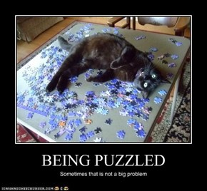BEING PUZZLED
