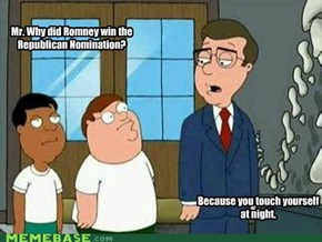 So Romney killed the dinnosaurs?