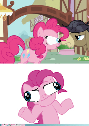 Pinkie Pie strikes again