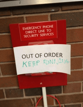 Emergency FAIL