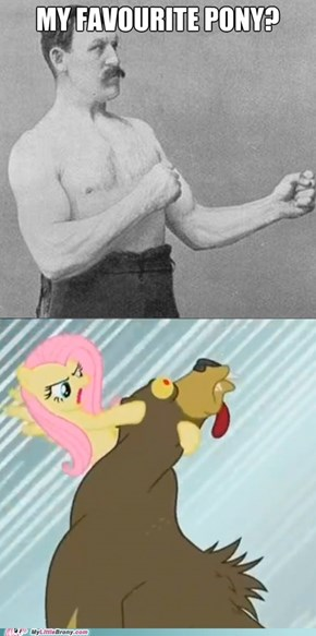 Overly Manly Man's favourite pony