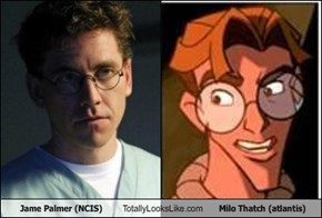 Jame Palmer (NCIS) Totally Looks Like Milo Thatch (atlantis)