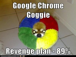 Google Chrome Goggie  Revenge plan - 89%