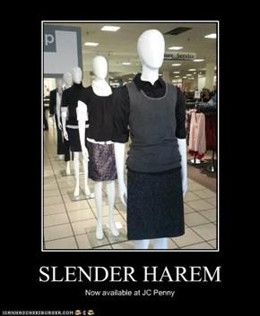 SLENDER HAREM