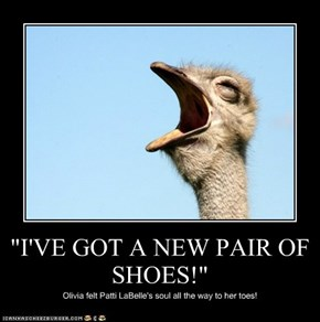 """I'VE GOT A NEW PAIR OF SHOES!"""