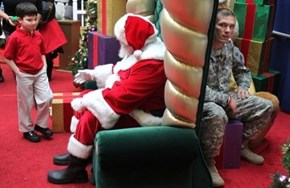 """""""Dear Santa, All I Want for Christmas I Want My Daddy to Come Home"""""""