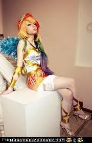 the best rainbow dash cosplay ever