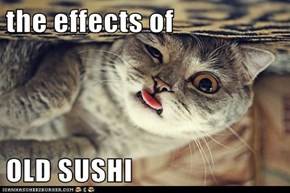 the effects of   OLD SUSHI