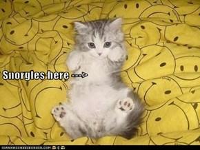 Snorgles here --->