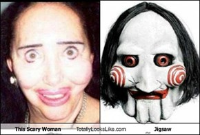 This Scary Woman Totally Looks Like Jigsaw