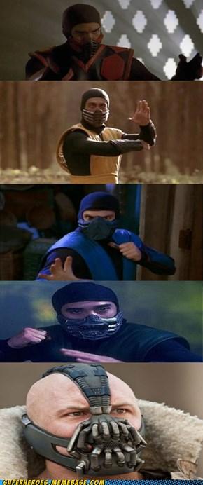 Bane's A Ninja?