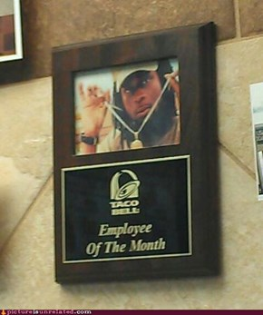 Employee of the Month, y'all!