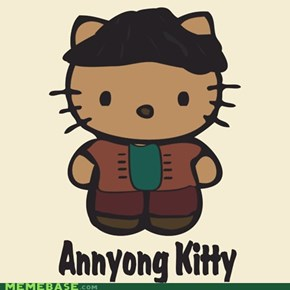 "Arrested Development Annyong ""hello"" kitty"
