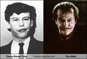 Young Steven Tyler Totally Looks Like The Joker