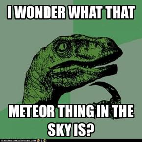 Meteor Dinosaur