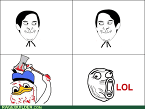 Dolan loves rage comics