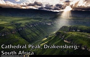Cathedral Peak, Drakensberg, South Africa