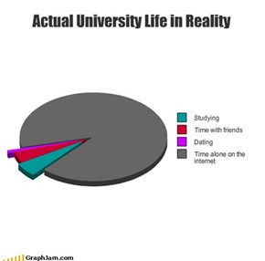 Actual University Life in Reality