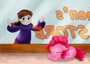 Gravity Falls X My little Pony