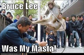 Bruce Lee  Was My Masta!