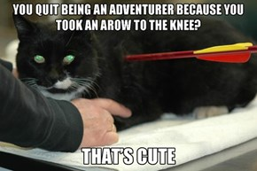 The Toughest Cat Alive