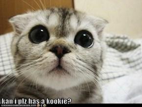 kan i plz has a kookie?
