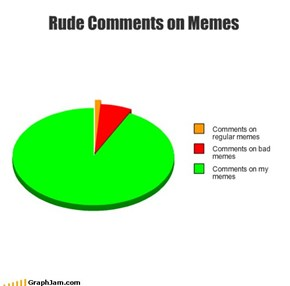 Rude Comments on Memes