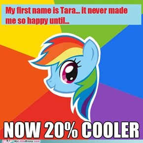 My name is Tara...