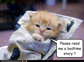 Please read me a bedtime story ?