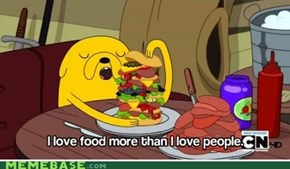 Adventure Time is always right