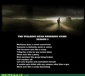 The Walking Dead Drinking