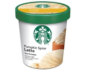 Pumpkin Spice Latte Ice Cream of the Day
