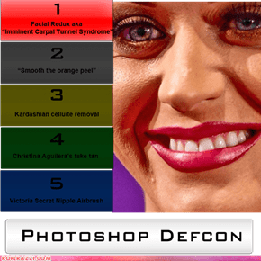 Photoshop Defcon 1: Katy Perry's Face