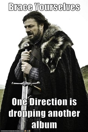 Brace Yourselves  One Direction is dropping another album