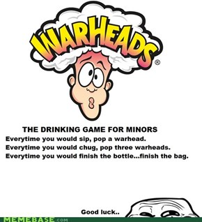 The Drinking Game For Minors