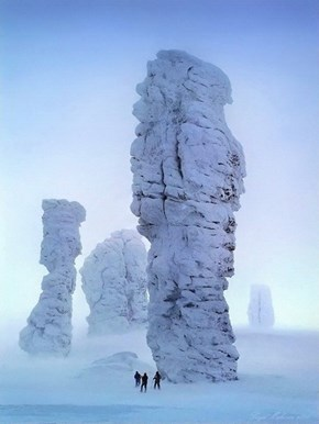 The Mysterious Manpupuner Rock Formations of Russia