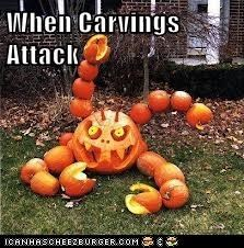 When Carvings Attack